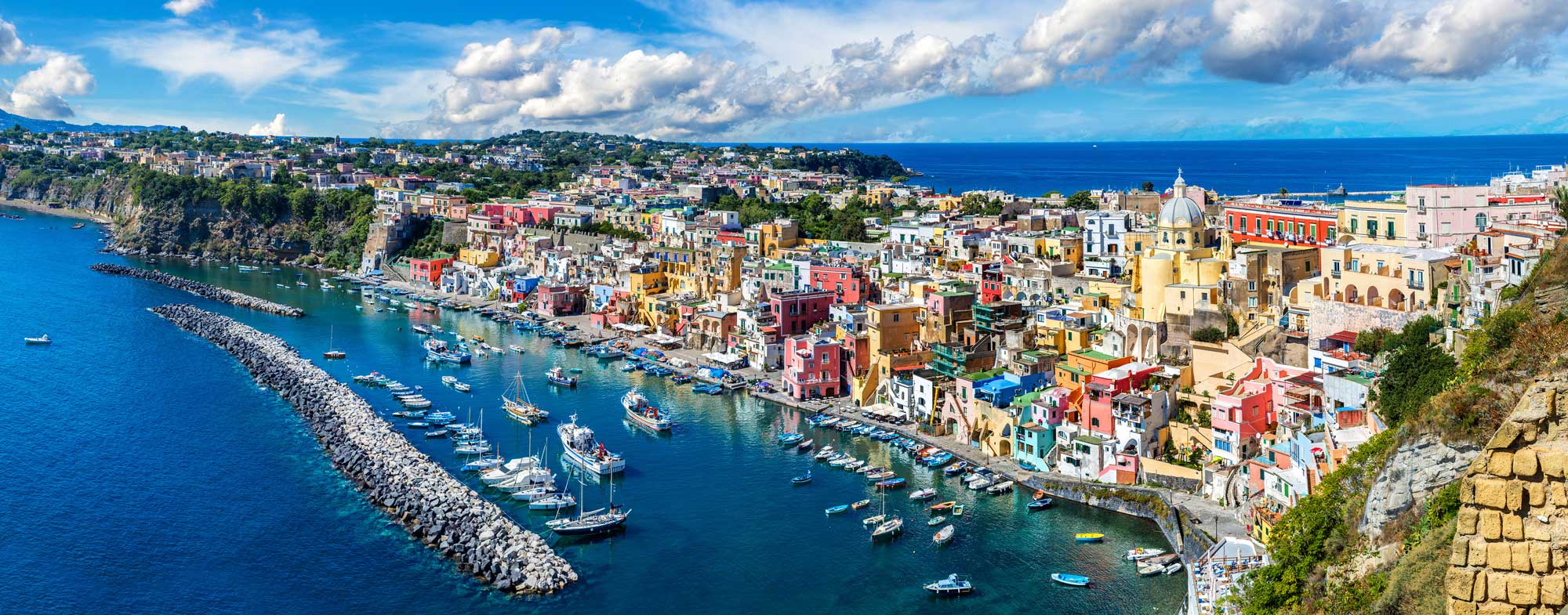 Tour To Isschia And Procida From Sorrento