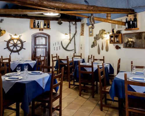 Sala ristorante l'Approdo