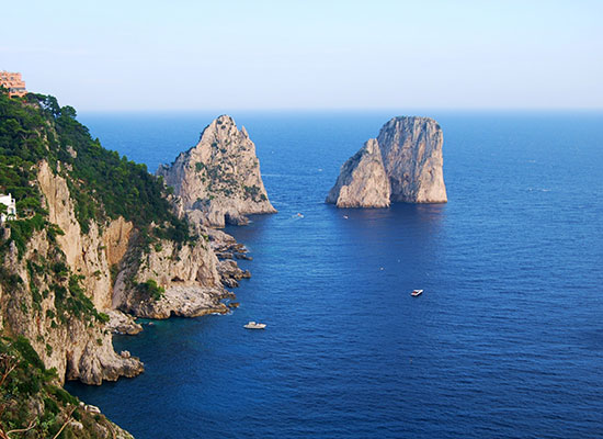 Capri boat excursion