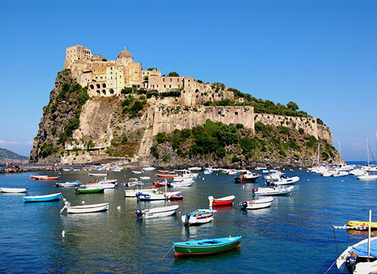 Ischia e Procida boat excursion